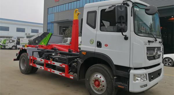 东风D9移动压缩箱车厢可卸式垃圾车