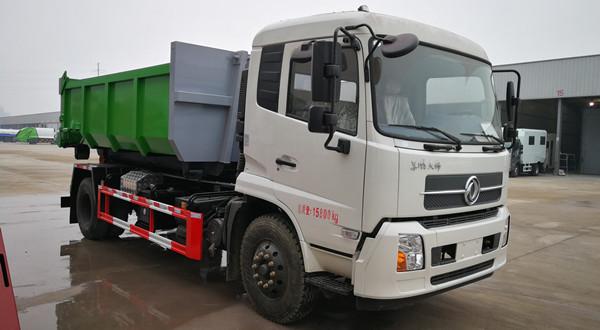 16吨餐厨垃圾转运车厢可卸式垃圾车