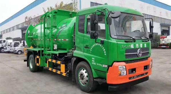 广州版东风天锦8吨CLW5180TCAD6型餐厨垃圾车