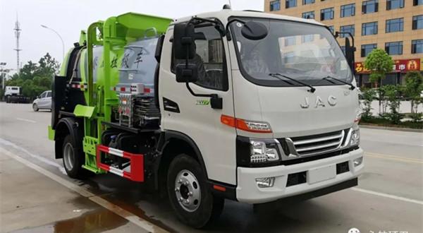 江淮5吨CLW5081TCAH6型餐厨垃圾车