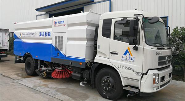 国五东风天锦16方洗扫车(8吨)