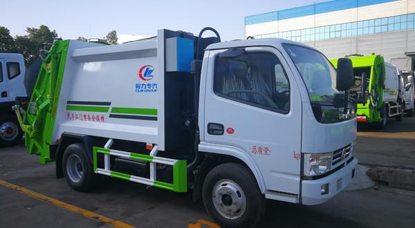 国六畅销车型6立方CLW5070ZYSD6型压缩式垃圾车